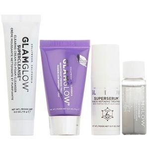 GLAMGLOW Skincare Lot Mask Moisturizer Cleanser